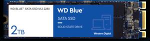 WD Blue 3D NAND SATA SSD 2TB