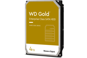 WD Gold<sup>™</sup> Enterprise Class SATA HDD 4TB