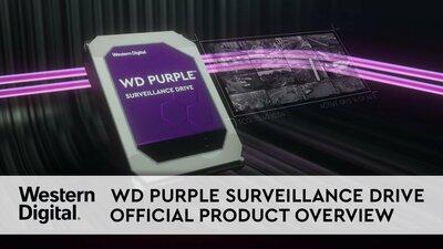 diapositiva 1 de 2,aumentar tamaño, wd purple<sup>™</sup> surveillance hard drive 8tb