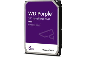 WD Purple<sup>™</sup> Surveillance Hard Drive 8TB