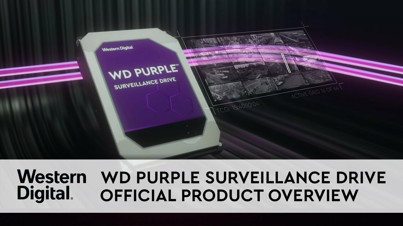 WD Purple WD101PURZ 10TB 7200 RPM 256MB Cache SATA 6 0Gb/s 3 5