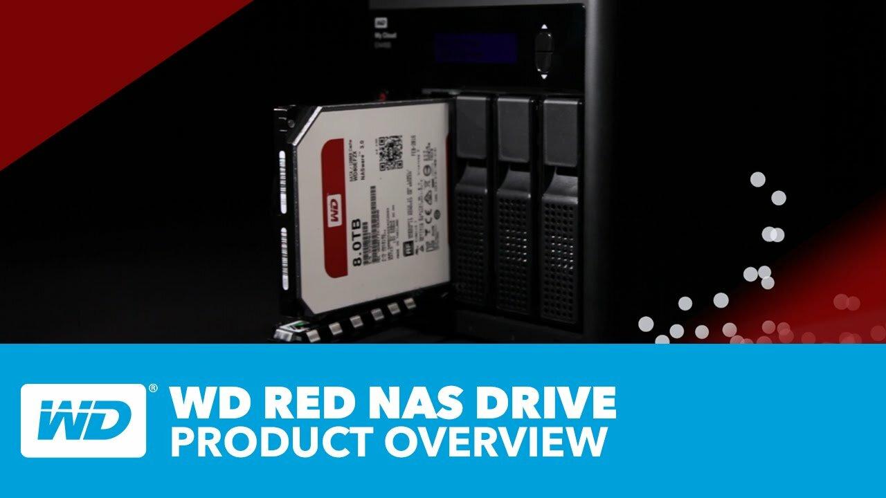 slide 1 of 8,show larger image, wd red nas hard drive
