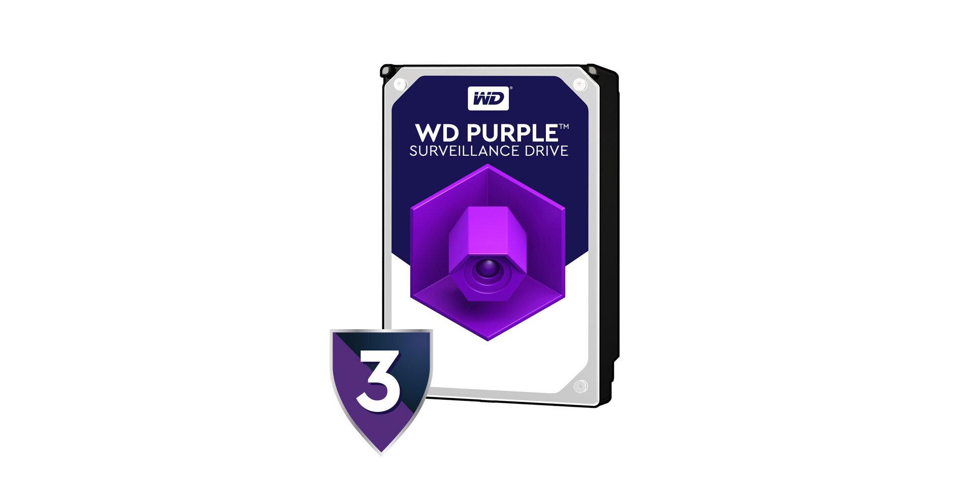 Wd Purple 2tb Surveillance Hard Drive - WD20PURZ