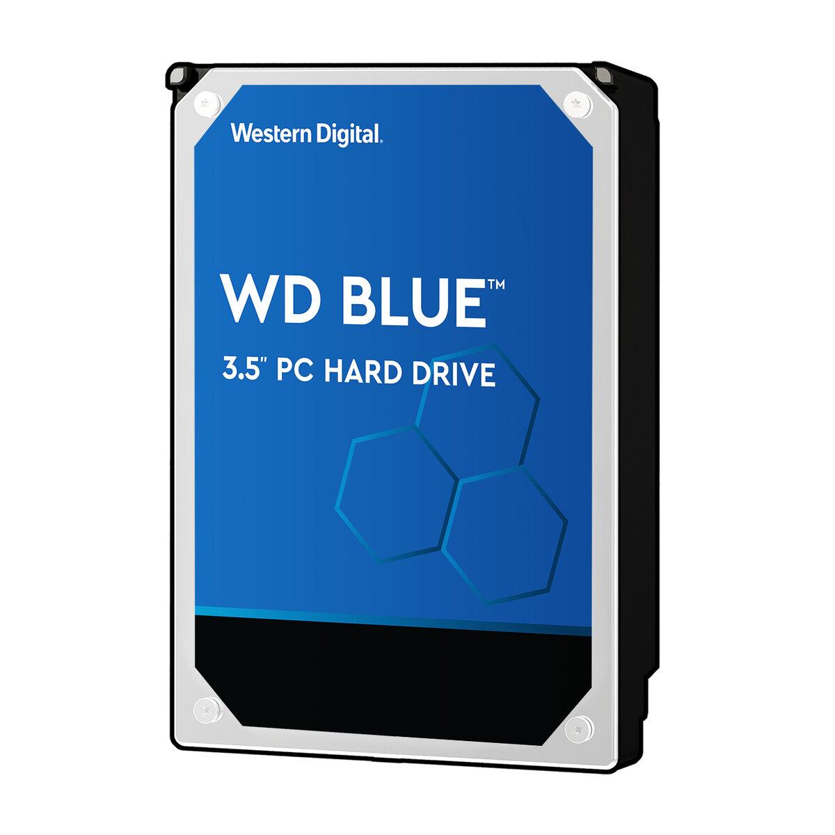 29bd3b4e7b1d WD Blue 3TB Desktop Hard Disk Drive - 5400 RPM SATA 6Gb/s 64MB Cache 3.5  Inch - WD30EZRZ