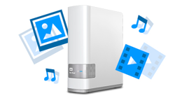 Su contenido multimedia y sus archivos en su propia nube