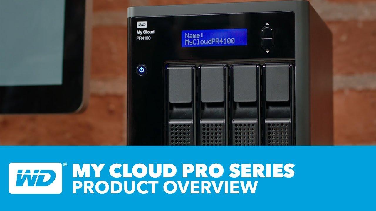 WD 32TB My Cloud Pro Series PR4100 Network Attached Storage - NAS -  WDBNFA0320KBK-NESN - Newegg com