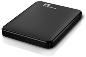 WD Elements Portátil 1 TB, USB 3.0 Discos duros portátiles