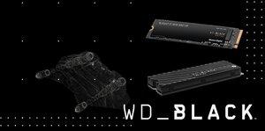 Black SN 750 NVMe SSD