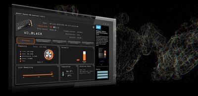 WD Black SSD Dashboard